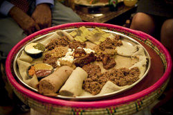 ethiopian traditional meal